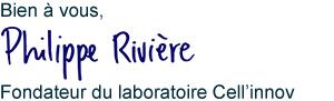 Philippe Rivière signature